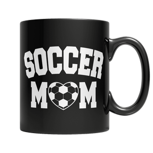 Limited Edition - Soccer Mom-11oz Black Mug-Spyder Deals