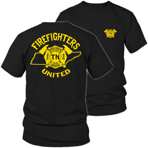 Limited Edition - Tennessee Firefighters United-T-shirt-Spyder Deals