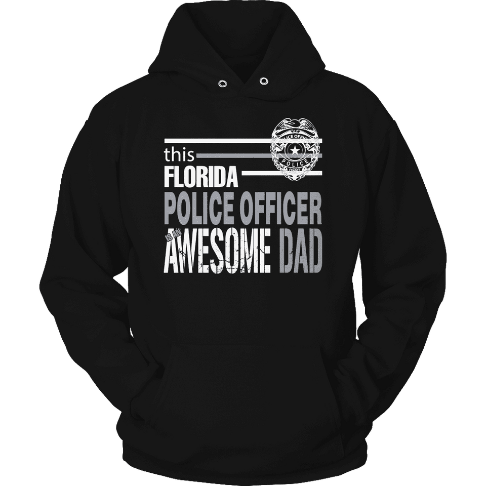 Limited Edition - This Florida Police Officer Is An Awesome Dad-T-shirt-Spyder Deals
