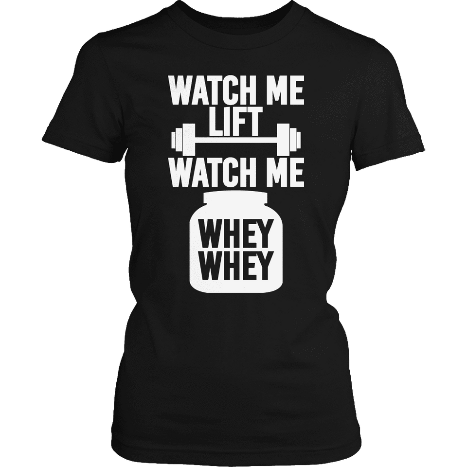 Limited Edition - Watch Me Lift-T-shirt-Spyder Deals