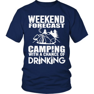 Limited Edition - Weekend Forecast Camping-T-shirt-Spyder Deals