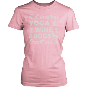 Limited Edition - Yoga Wine Dogs-T-shirt-Spyder Deals