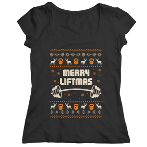 Merry Liftmas UCS-Ladies Classic Shirt-Spyder Deals