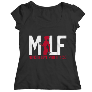 MILF Moms In Love With Fitness-Bella Flowy Racerback Tank-Spyder Deals