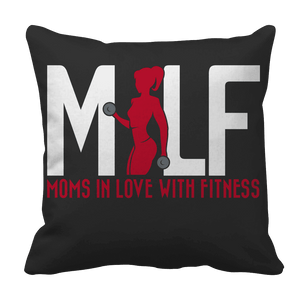 MILF Moms In Love With Fitness-Pillow Cases-Spyder Deals