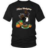 Pit Bull Shirt | Unisex - Happy Thanksgiving 1