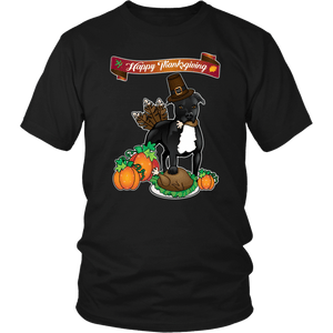 Pit Bull Shirt | Unisex - Happy Thanksgiving 2