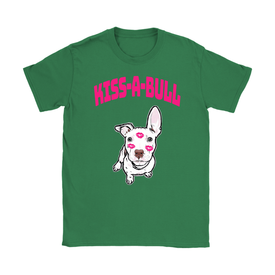Pit Bull Shirt | Womens - Kiss-A-Bull 2