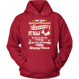 Pitbull Hoodie - Don't Mess With My Pit Bulls