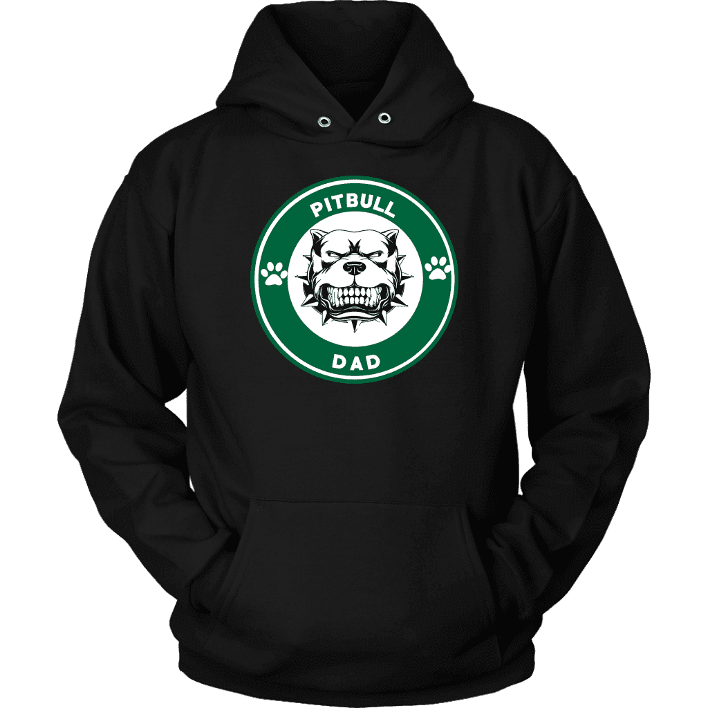 Pitbull Hoodie - Pitbull Dad-T-shirt-Spyder Deals