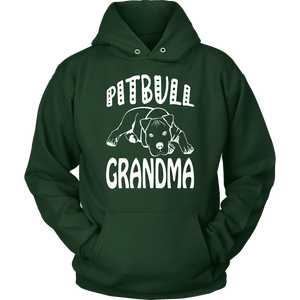 Pitbull Hoodie - Pitbull Grandma-T-shirt-Spyder Deals