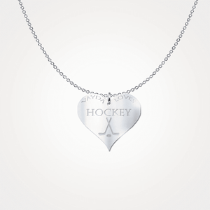 Vayda Loves Hockey-Freeform Necklace-Spyder Deals