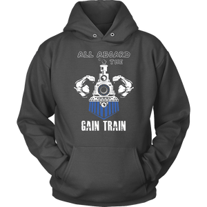 Weightlifting Hoodie - Gain Train