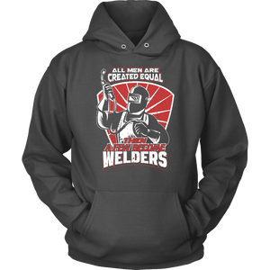 Welder Hoodie - All Men Are Created Equal