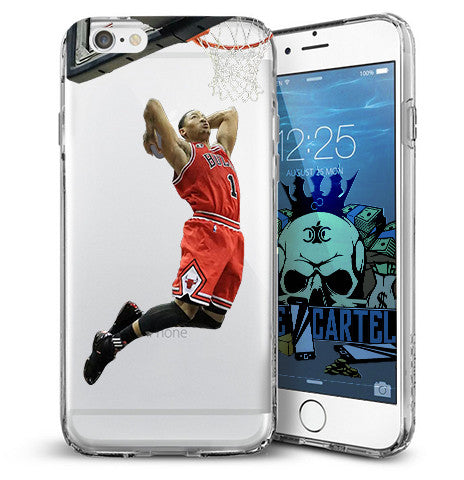 derrick rose chicago iphone case