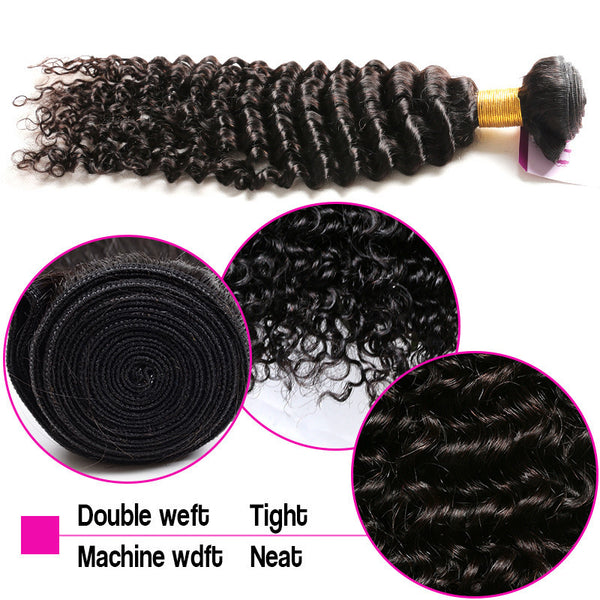 Details on Double Drawn Hair Weave