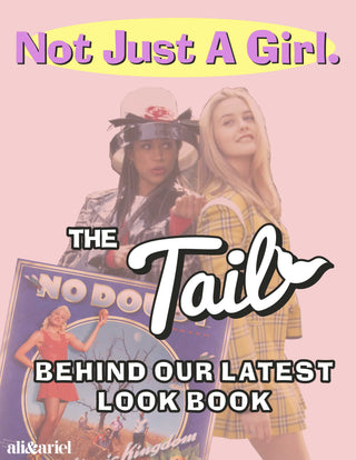 not just a girl: the tail behind the lookbook