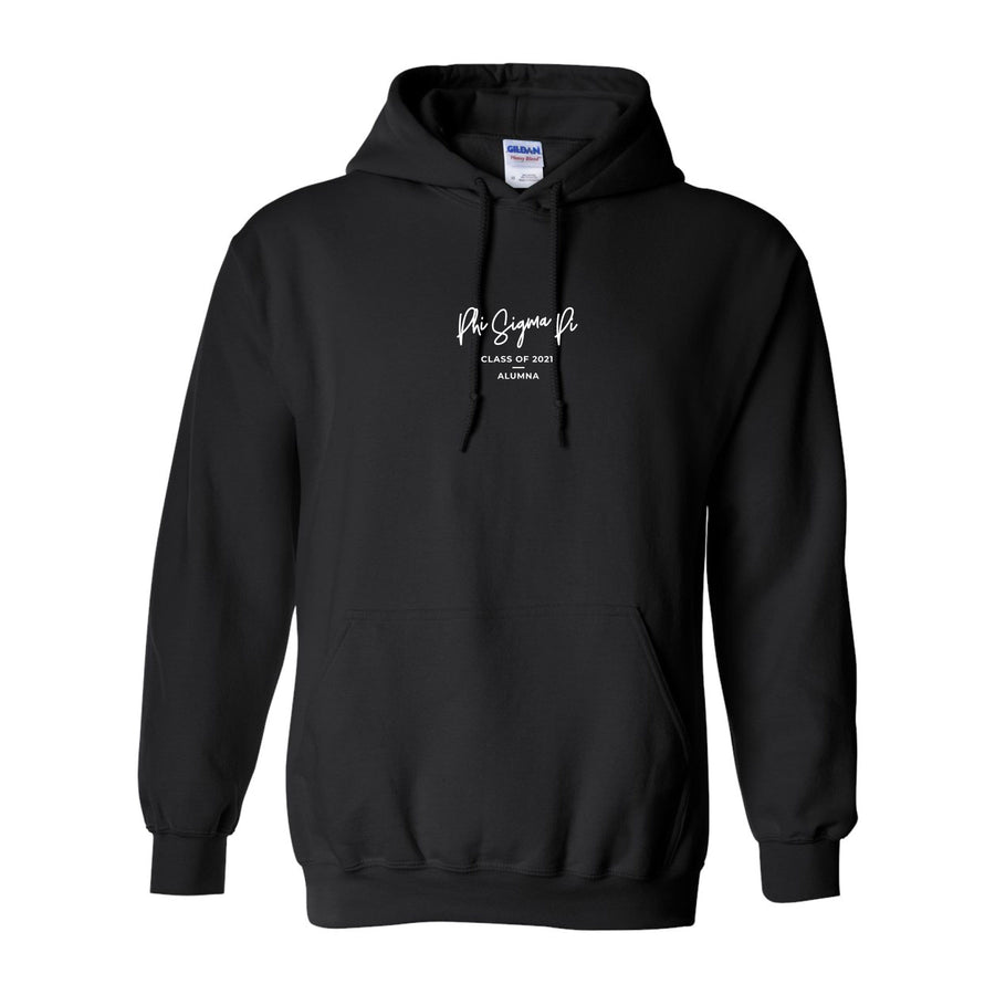 Ali & Ariel 2021 Embroidered Signature Hoodie <br> (sororities G-Z)