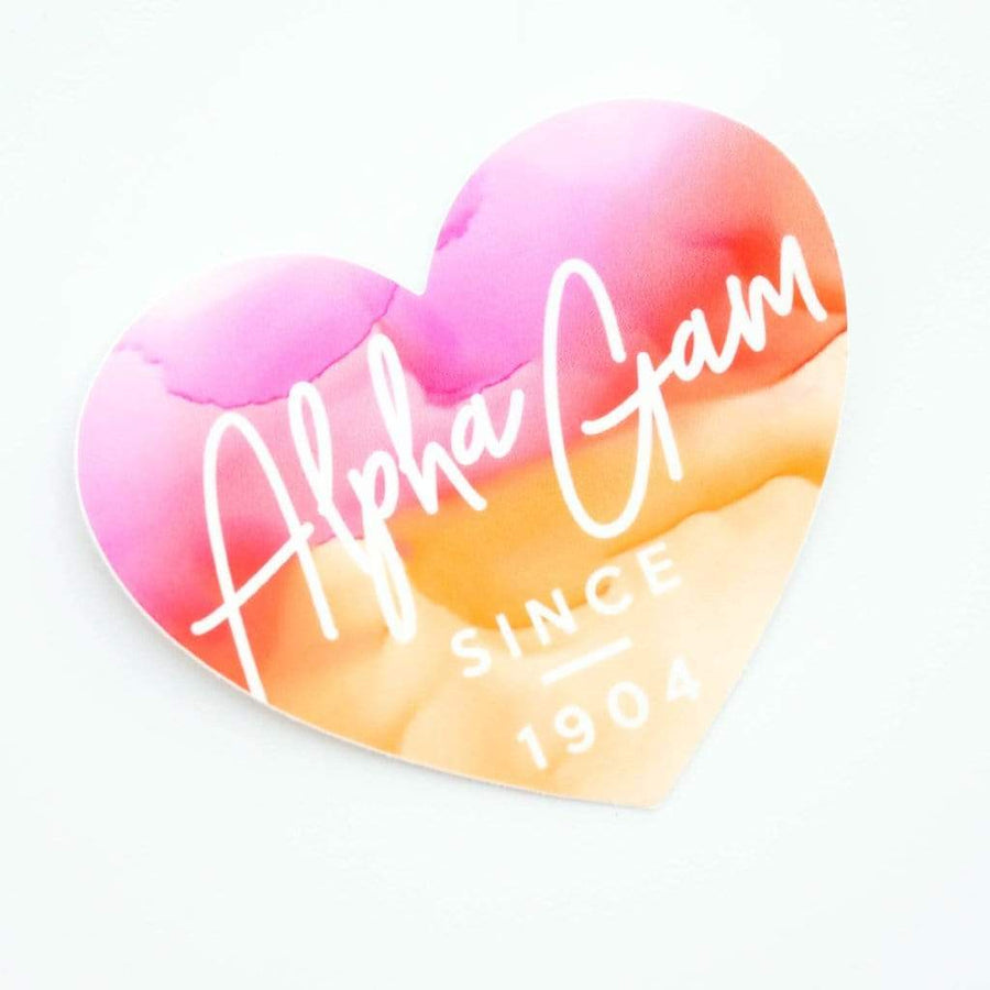 Alpha Gamma Delta Stickers