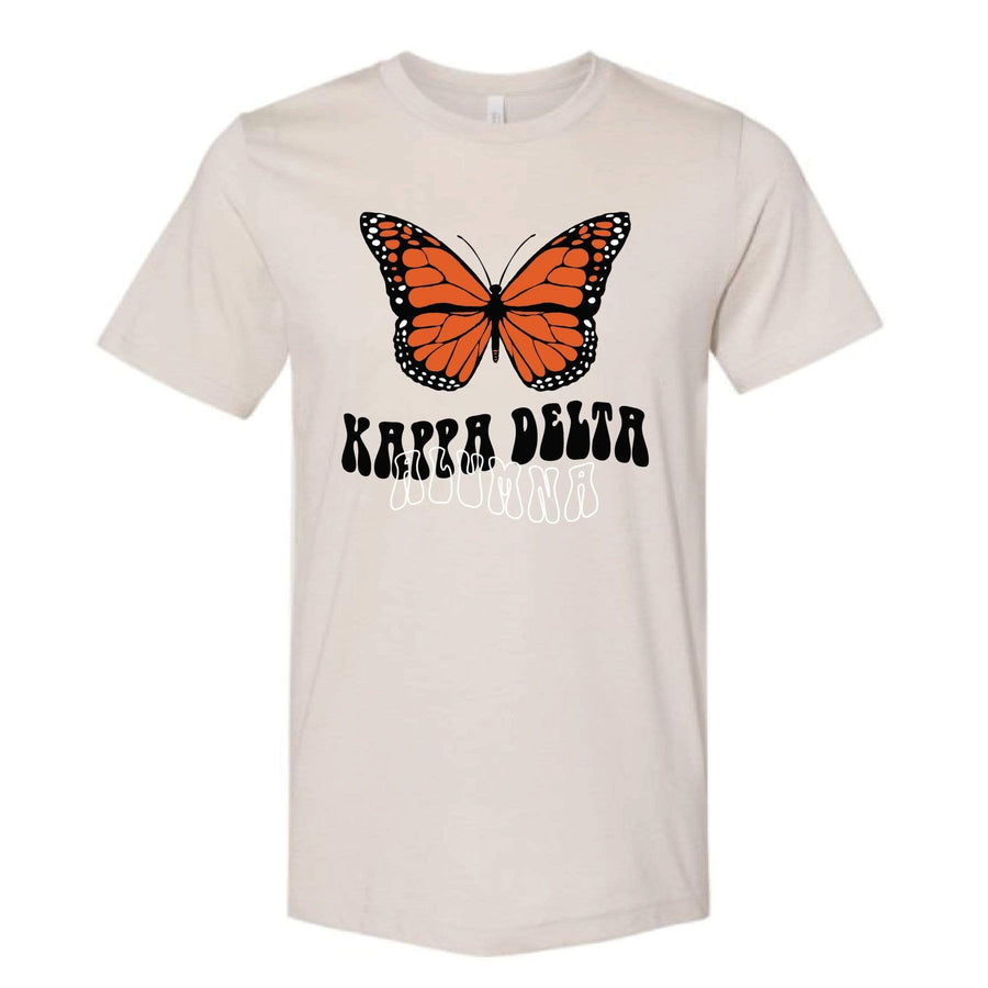 Alumna Butterfly Tee <br> (sororities G-Z)