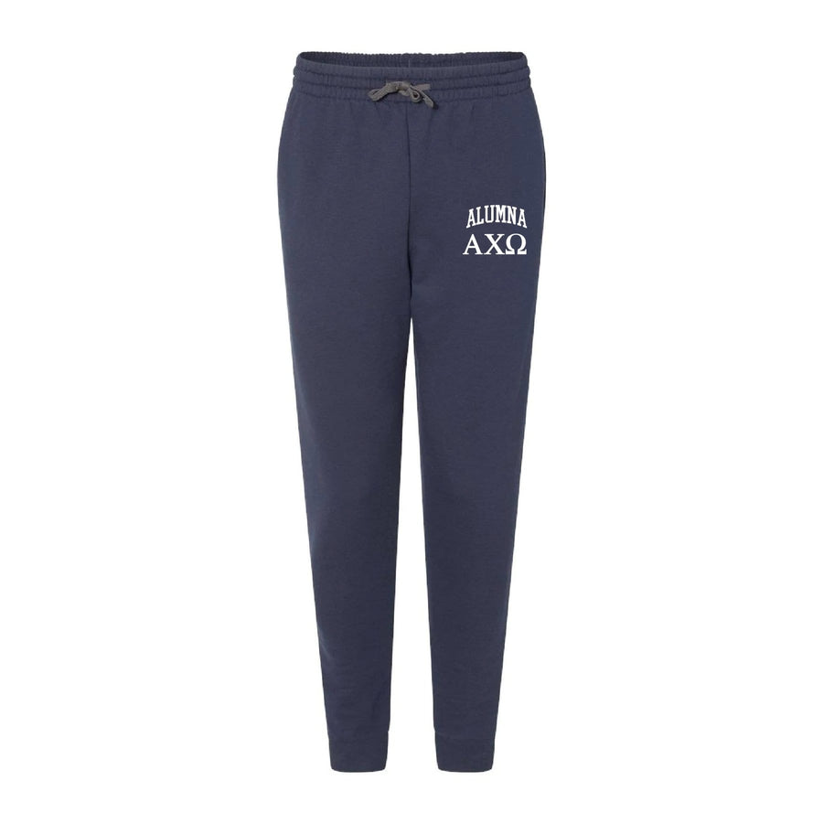 Ali & Ariel Alumna Embroidered Collegiate Joggers <br> (sororities A-D)
