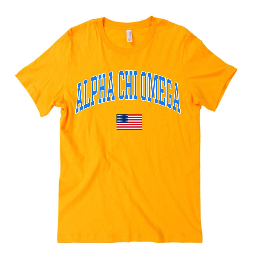 American Gold Tee <br> (available for multiple organizations!)