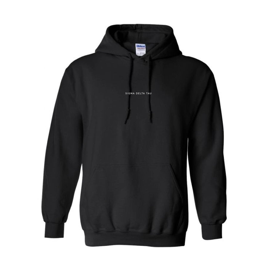 Black Embroidered Hoodie <br> (available for most organizations!)