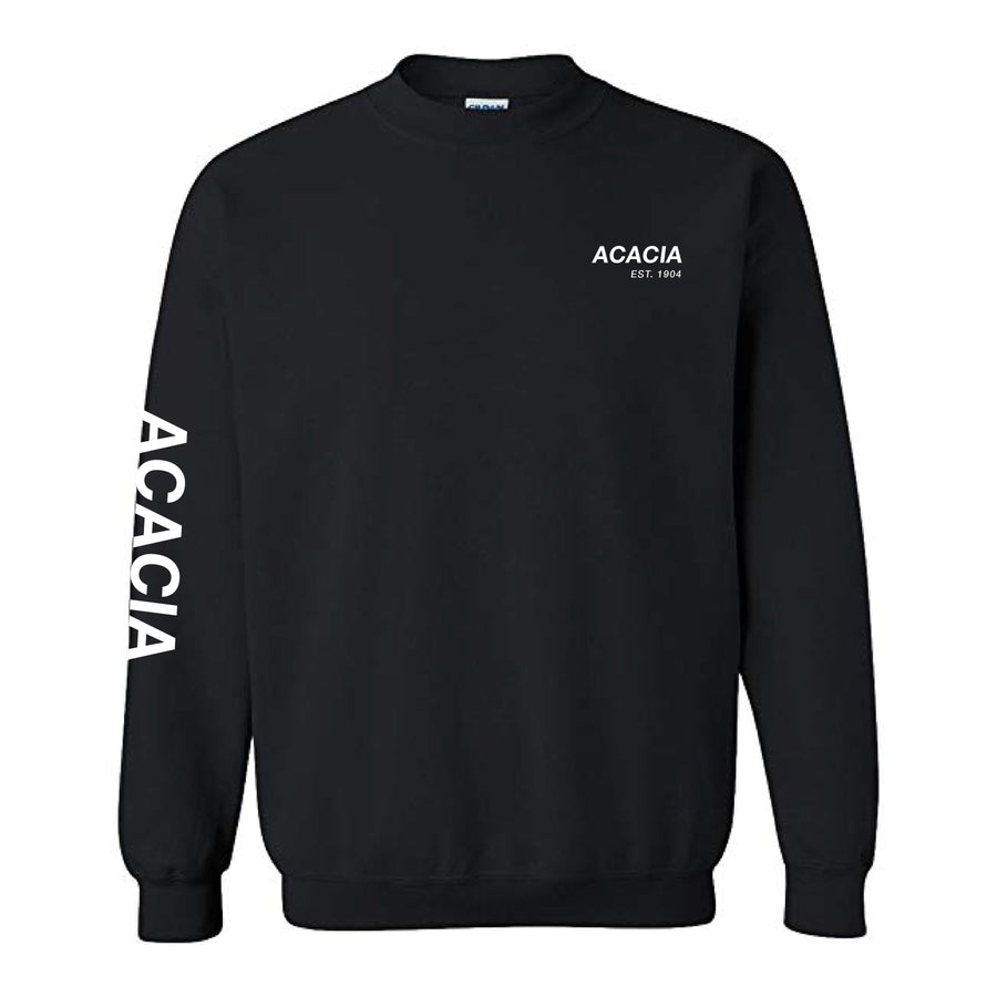 Black Essential Fleece <br> (available for all fraternities!)