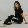 Ali & Ariel Black Greek Joggers <br> (available for all organizations!)