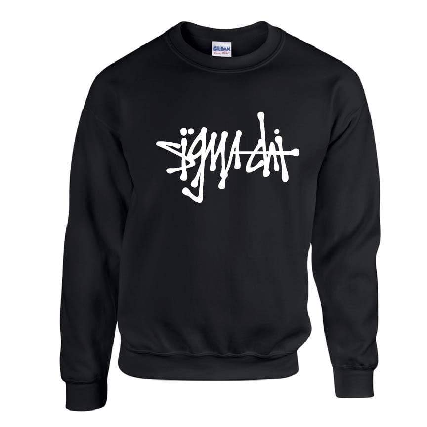 Black Scribble Fleece <br> (available for multiple fraternities!)