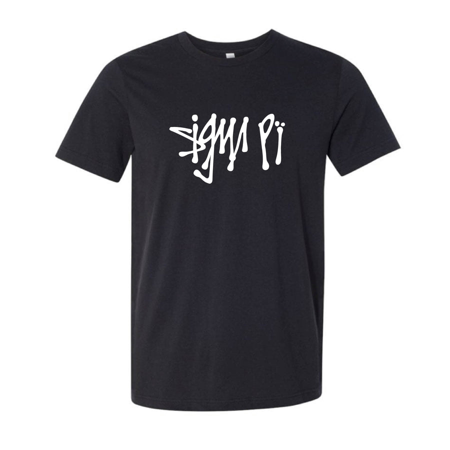 Black Scribble Tee <br> (available for multiple fraternities!)