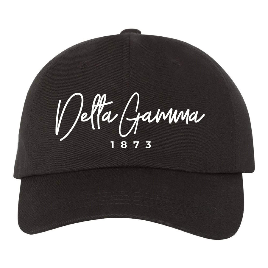 Black Signature Dad Hat <br> (available for multiple organizations!)
