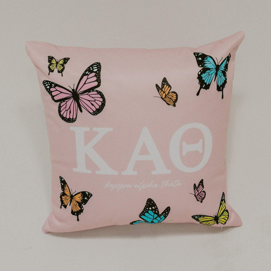 Ali & Ariel Butterfly Pillow <br> (available for multiple sororities)