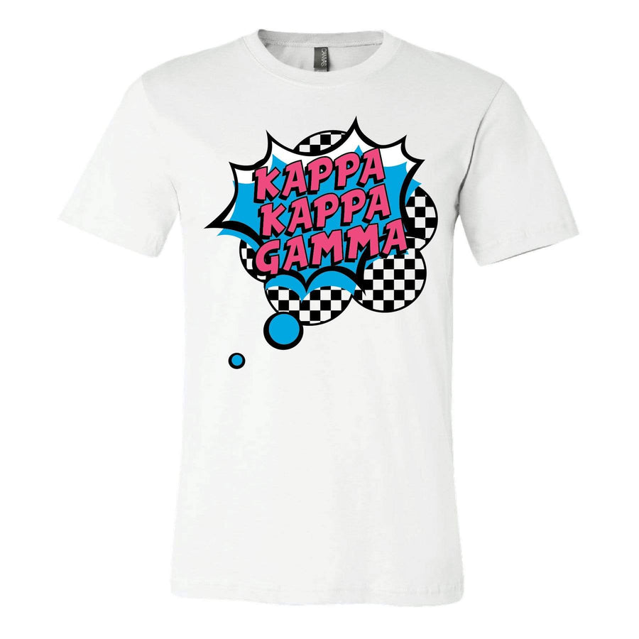 Checkered Pop Art Tee <br> (available for multiple organizations!)