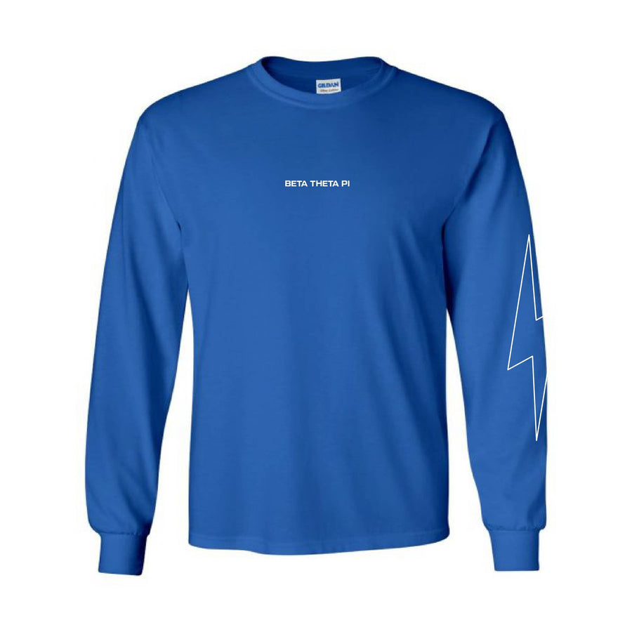Cobalt Bolt Long Sleeve <br> (available for all fraternities!)