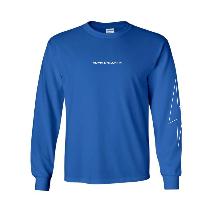 Cobalt Bolt Long Sleeve Tee <br> (available for all organizations!)