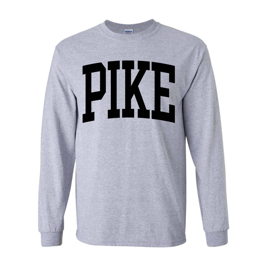 Collegiate Heather Long Sleeve <br> (available for all fraternities!)