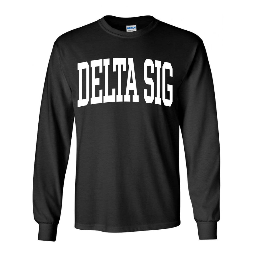 Collegiate Long Sleeve <br> (available for all fraternities!)