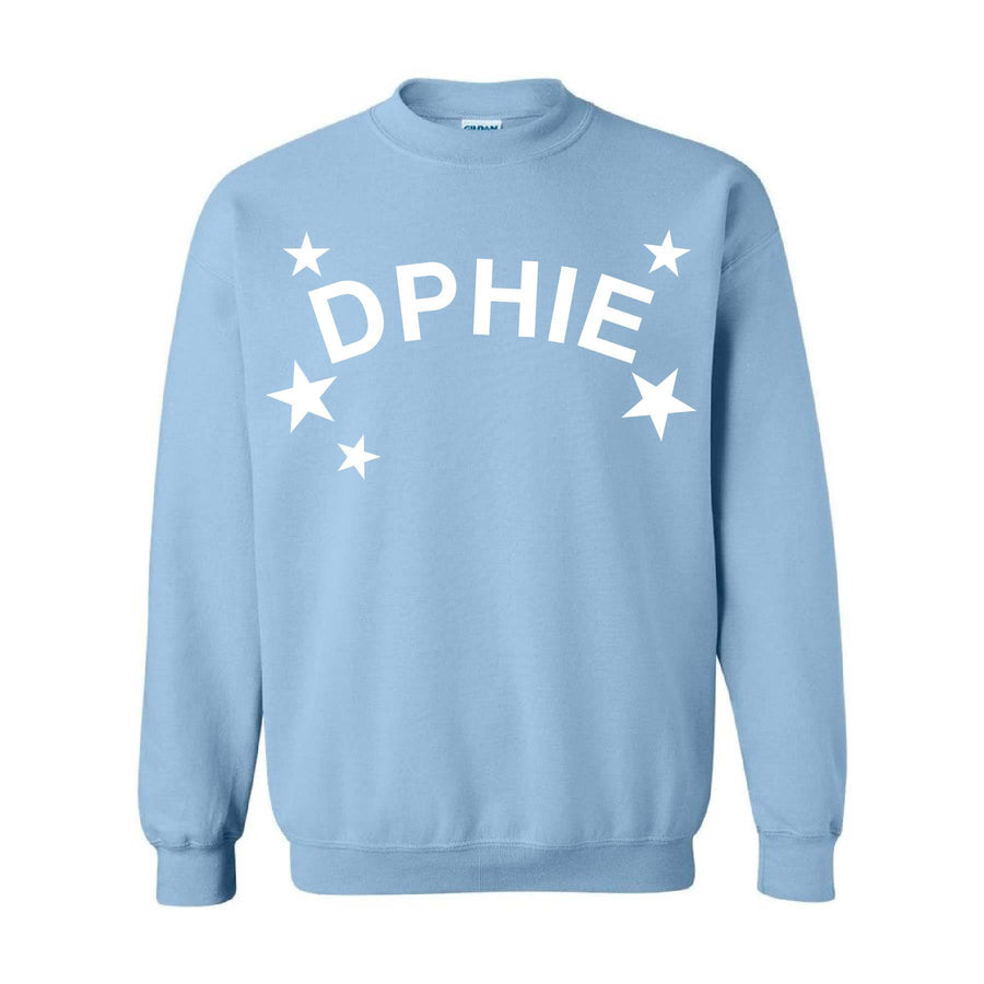 Cosmic Stars Baby Blue Fleece <br> (available for multiple organizations!)