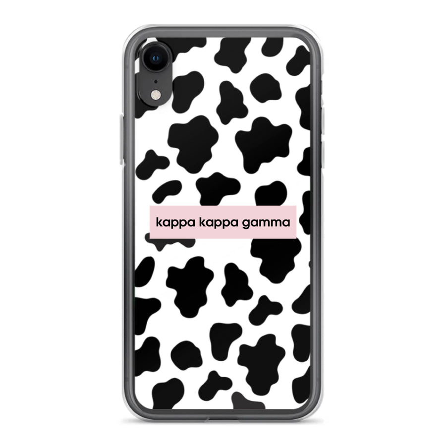 Cow Print iPhone Case <br> (iPhone XR / X/XS / XS Max)