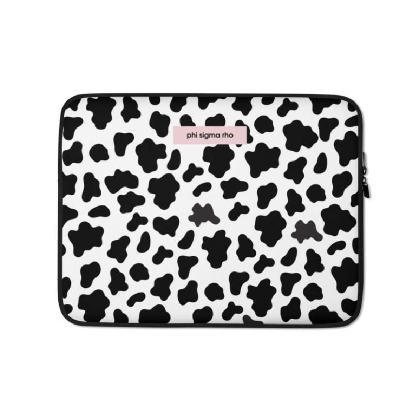 Cow Print Laptop Sleeve <br> (available for multiple organizations!)