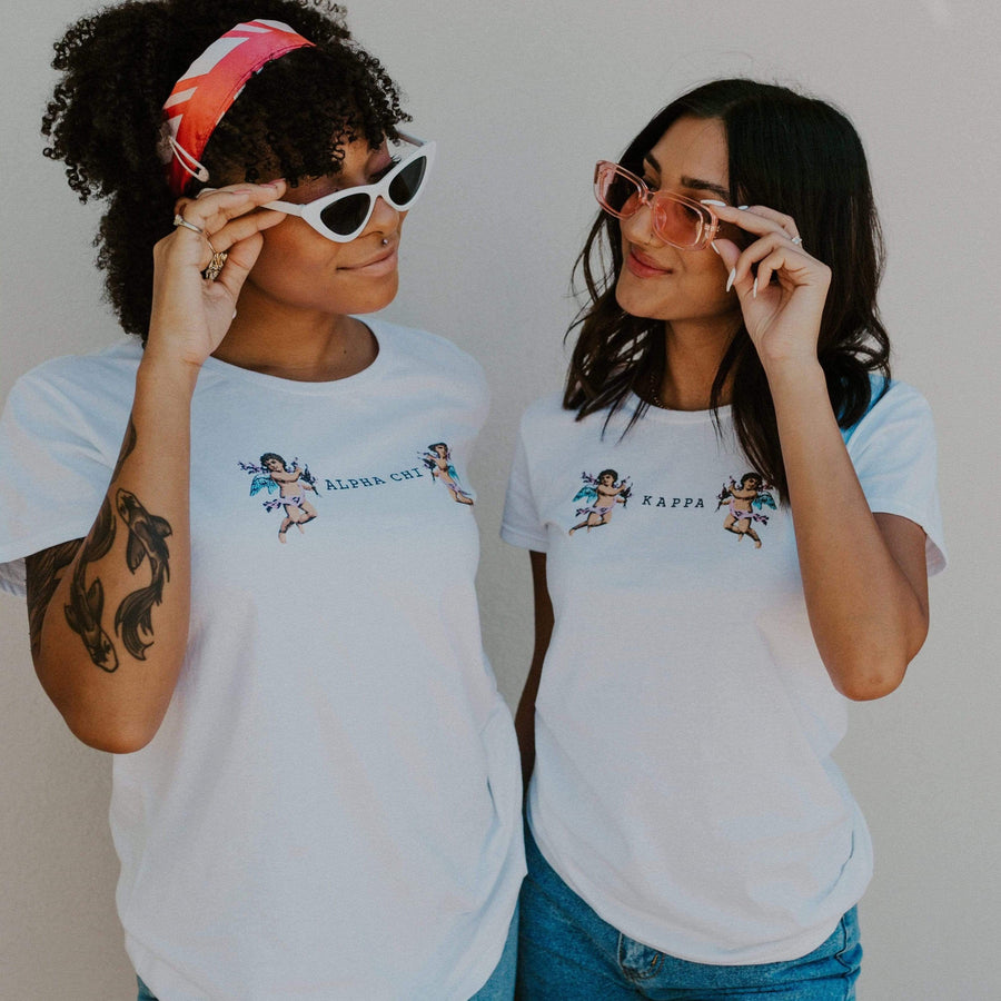 Ali & Ariel Cupid Tee <br> (sororities G-Z)