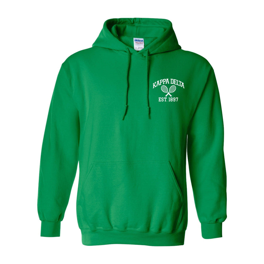 Ali & Ariel Embroidered Tennis Hoodie <br> (sororities G-Z)