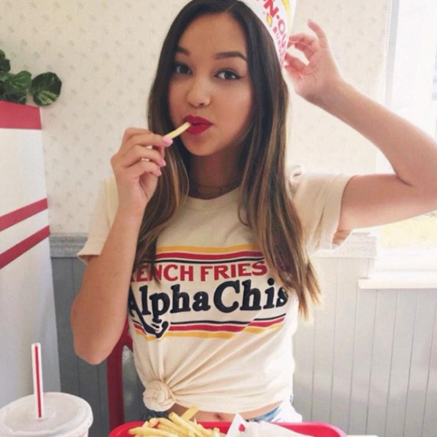 French Fries & Alpha Chi's