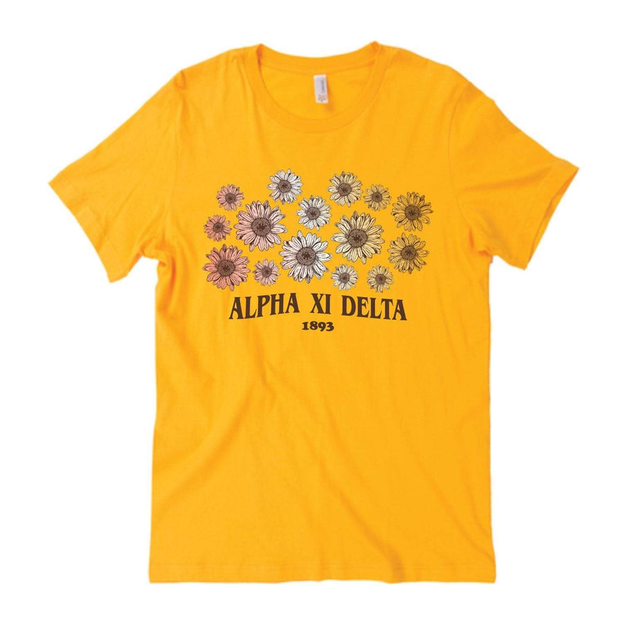 Golden Daisies Tee <br> (available for multiple organizations!)