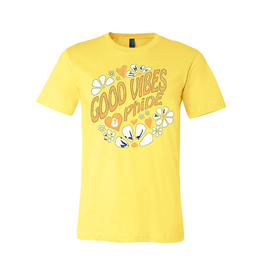 Good Vibes Tee <br> (available for all organizations!)