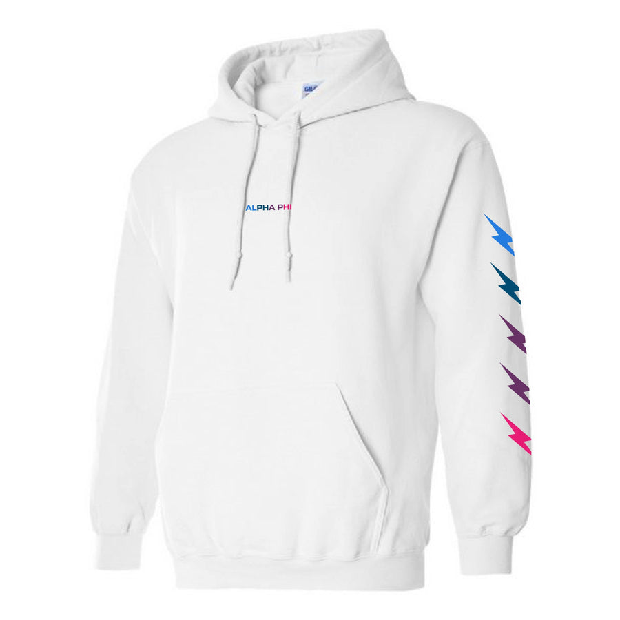 Gradient Bolt Hoodie <br> (available for most organizations!)