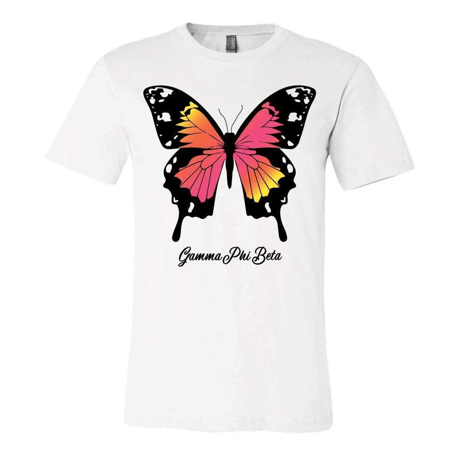 Gradient Butterfly Tee <br> (sororities G-Z)