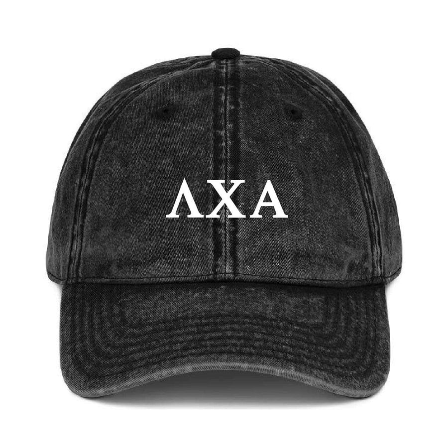 Greek Dad Hat - Black <br> (available for all fraternities!)