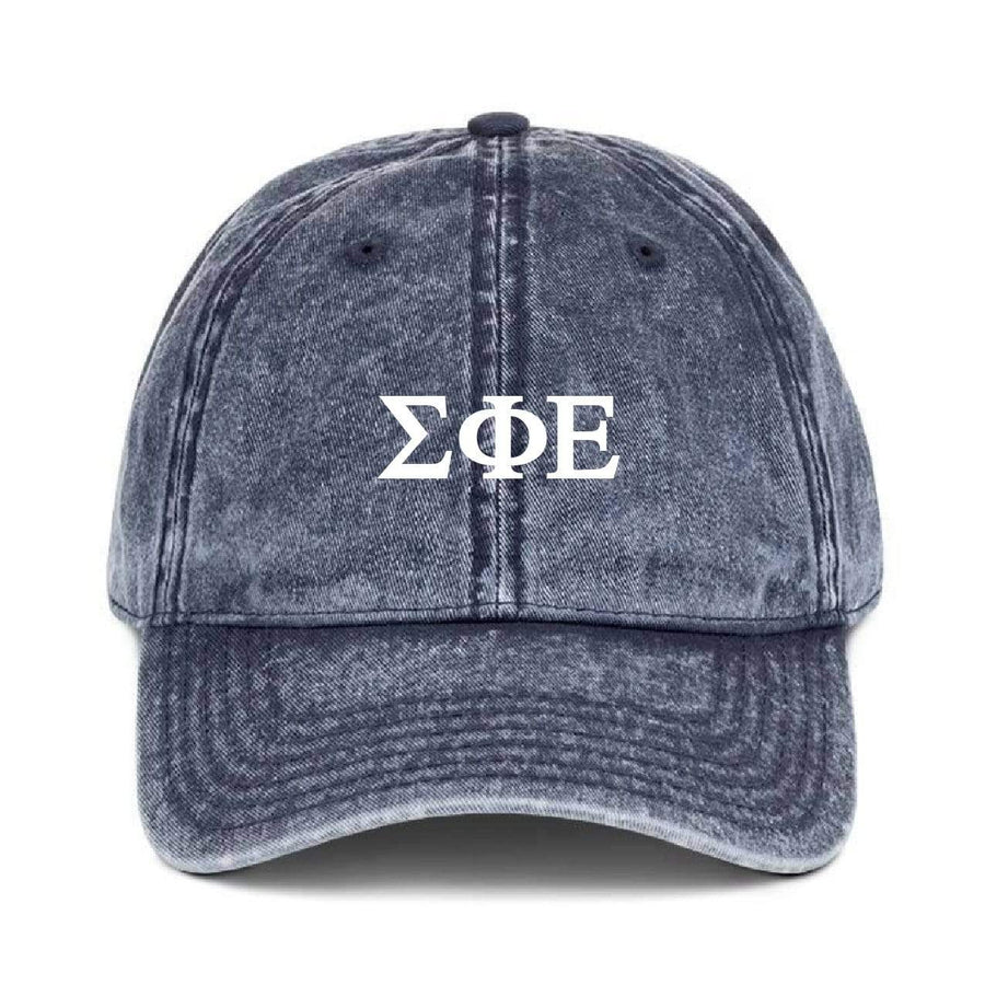 Greek Dad Hat - Navy <br> (available for all fraternities!)